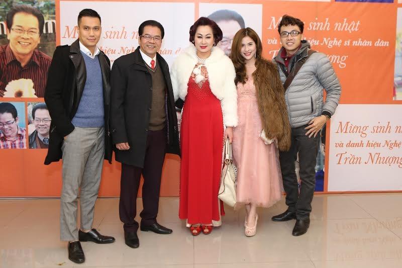 Nghệ sỹ Trần Nhượng tổ chức tiệc mừng được phong danh hiệu NSND - 6