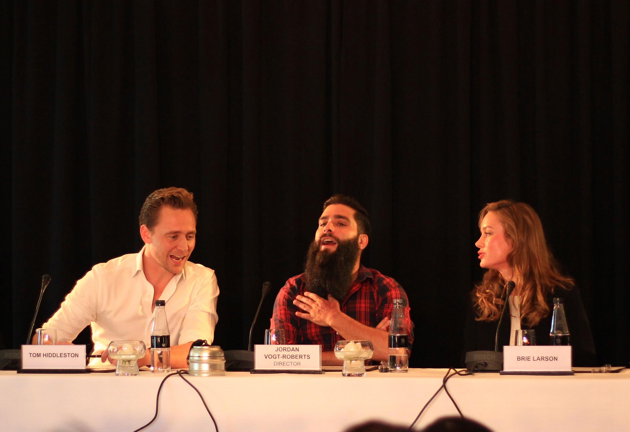 """Chia sẻ về vai diễn trong phim """"Kong: Skull Island"""", Tom Hiddleston cho biết: """"Tôi rất hứng thú khi tham gia bộ phim. Tôi luôn muốn được đóng những nhân vật khác nhau. Tôi sẽ cố gắng hoàn thành tốt vai diễn này. Đây là một vai chính diện, khác với những vai phản diện như trước đây""""."""