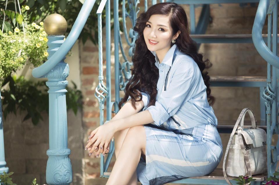 Không chỉ xinh đẹp, Hoa hậu Đền Hùng còn là một người rất năng động và thành công. Ảnh: GM.