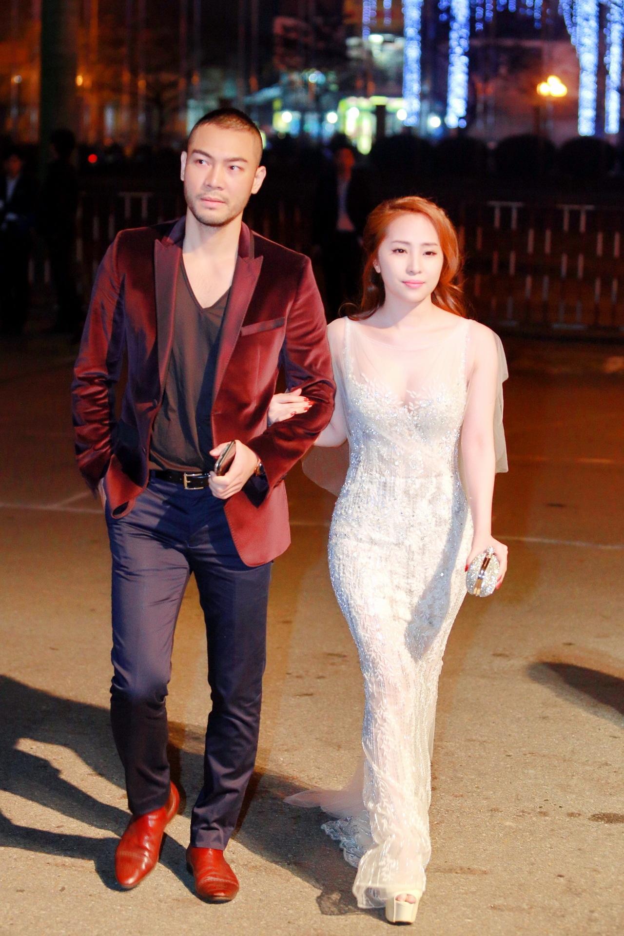 Vợ chồng người mẫu Doãn Tuấn và ca sĩ Quỳnh Nga.