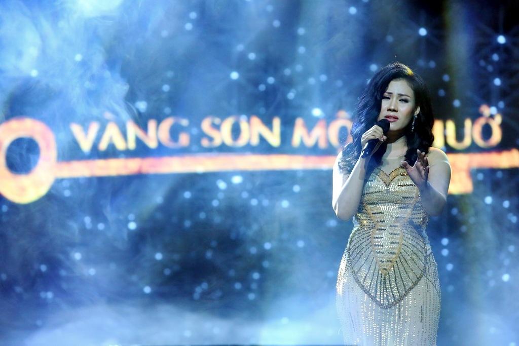 Nữ ca sĩ Ngọc Châm.