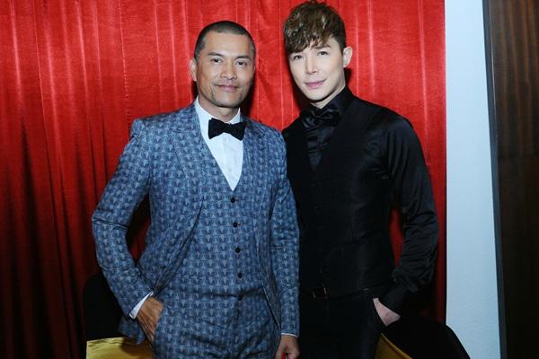 Sự kiện có sự có mặt của ngôi sao đài Hồng Kông - TVB Lữ Lương Vỹ.