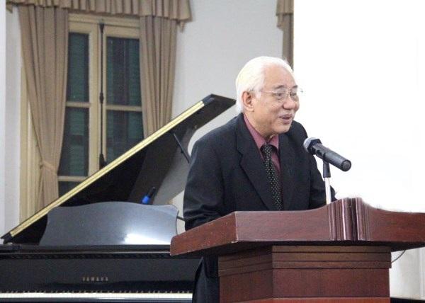 Hoạ sĩ Trần Khánh Chương - Chủ tịch Hội Mỹ thuật Việt Nam. Ảnh: TL.