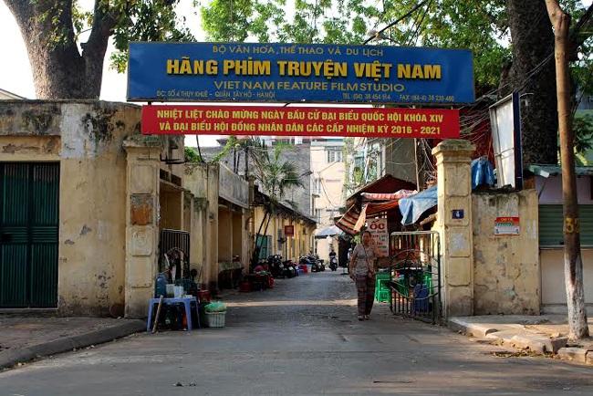 Hãng phim truyện Việt Nam trong thời gian đang chời giải quyết xong thủ tục cổ phần hoá. Ảnh: ĐH.