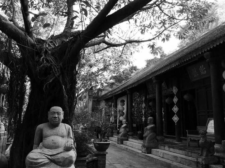 Cảm giác bình yên là cảm nhận chung của bất kỳ ai khi đặt chân đến không gian này.