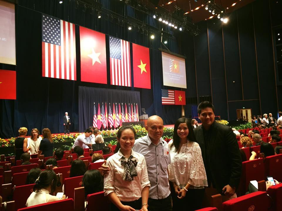 Nhạc sĩ Đặng Châu Anh cho rằng, chị đã thấy mình trong bài diễn thuyết của Tổng thống Obama.
