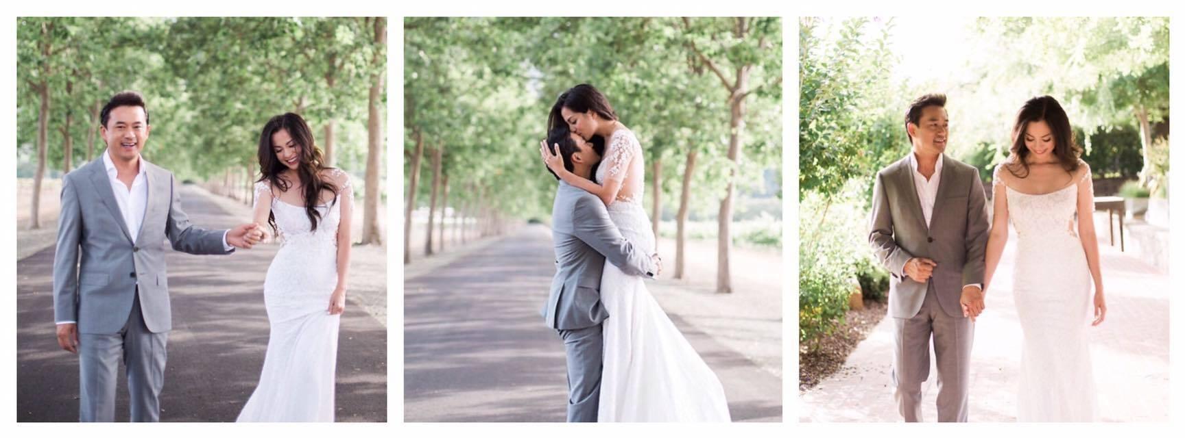 Cặp đôi này đã sống chung với nhau 6 năm và đã có một con trai riêng trước khi tiến hành lễ cưới.