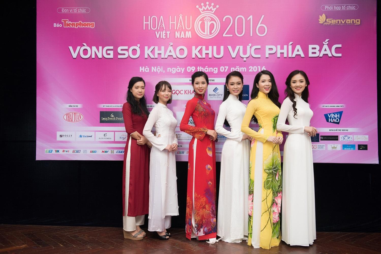 32 người đẹp vào chung khảo phía Bắc Hoa hậu Việt Nam 2016 - 7
