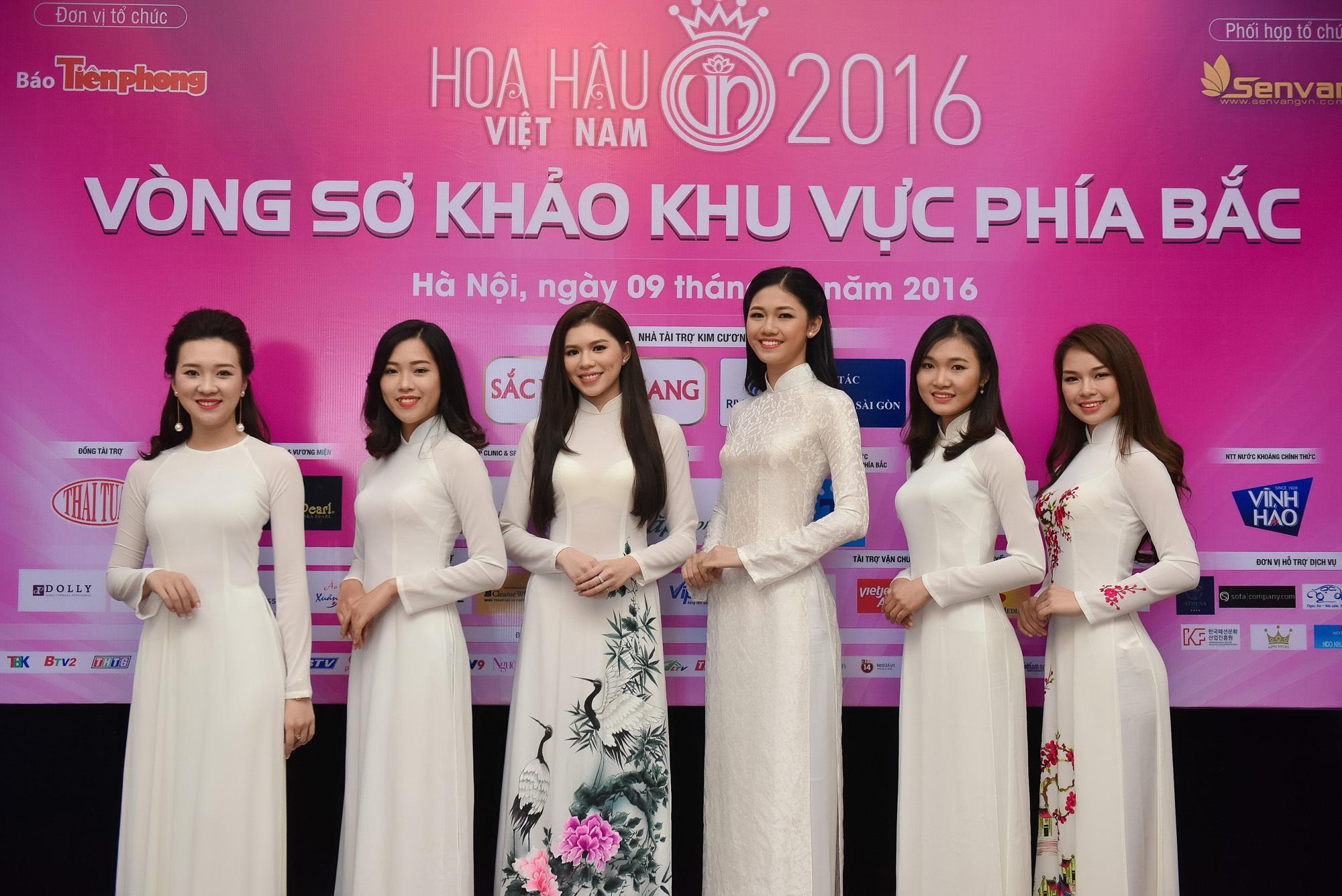32 người đẹp vào chung khảo phía Bắc Hoa hậu Việt Nam 2016 - 4