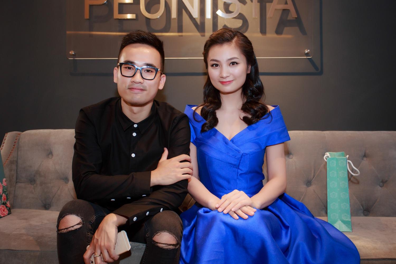 NTK Hà Duy và diễn viên Diệu Hương.