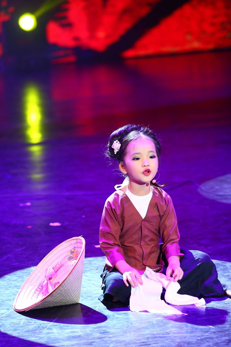 Tài năng và giọng hát của cô bé 6 tuổi này đã khiến nhiều giám khảo phải ngạc nhiên.