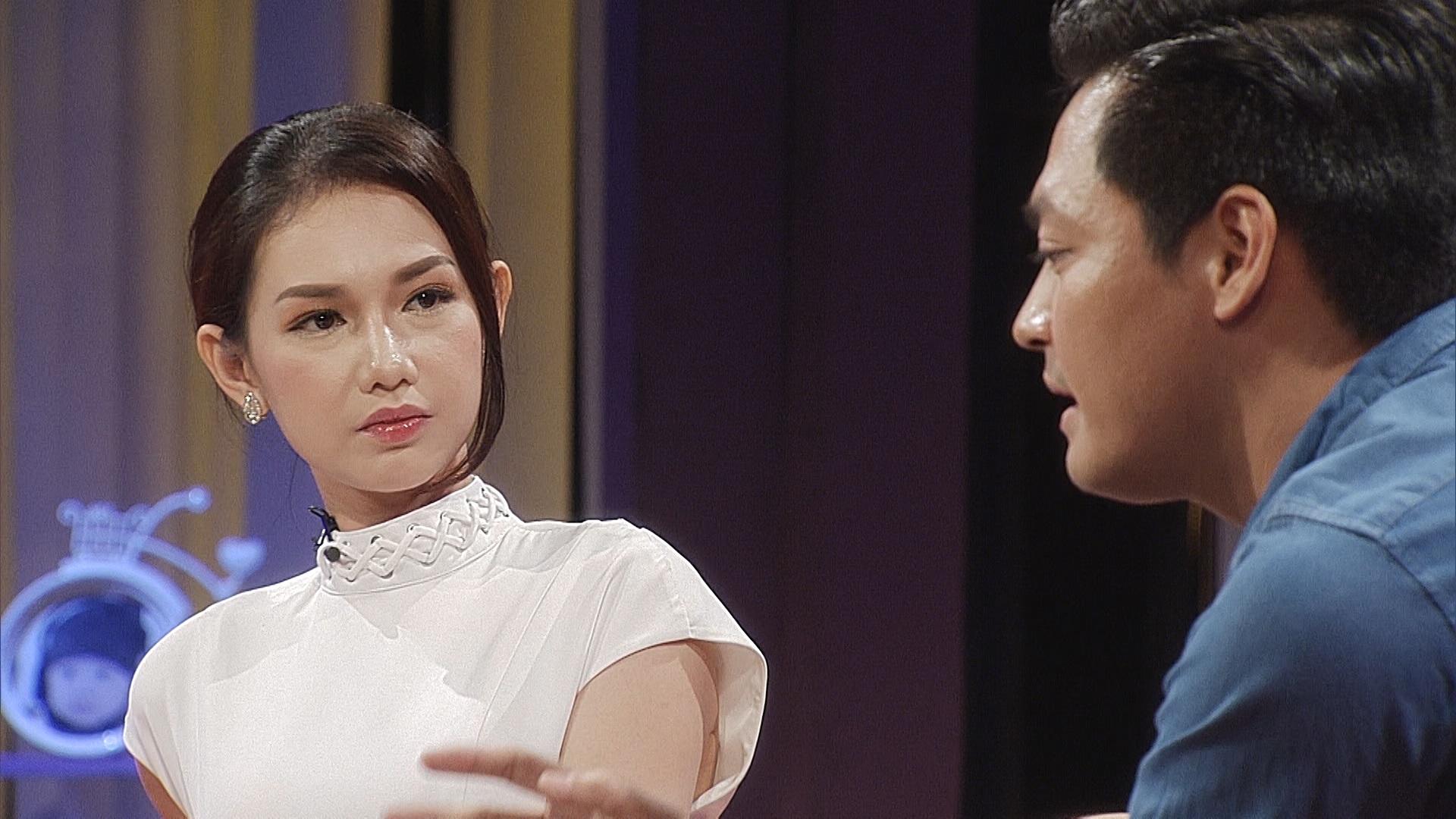 Quỳnh Chi mở lòng cùng Phan Anh.