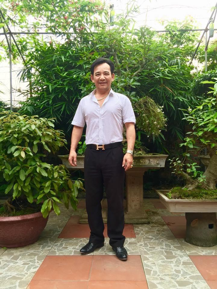 Quang Tèo luôn nhận mình là nông dân thứ thiệt. Ảnh: FBNV.