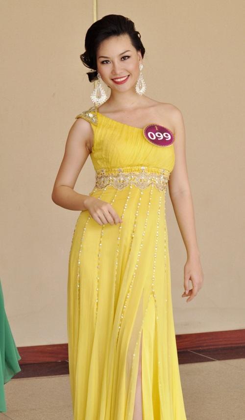 Phạm Thị Thuỳ Linh của Hoa hậu Thế giới người Việt 2010 từng bị tước danh hiệu Người đẹp Áo dài và bị rời khỏi cuộc chơi vì bị phát giác phẫu thuật mũi.
