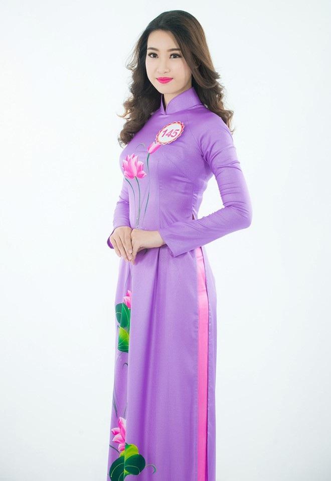 Đỗ Mỹ Linh từng lọt Top 15 Hoa hậu Hoàn vũ Việt Nam 2015.