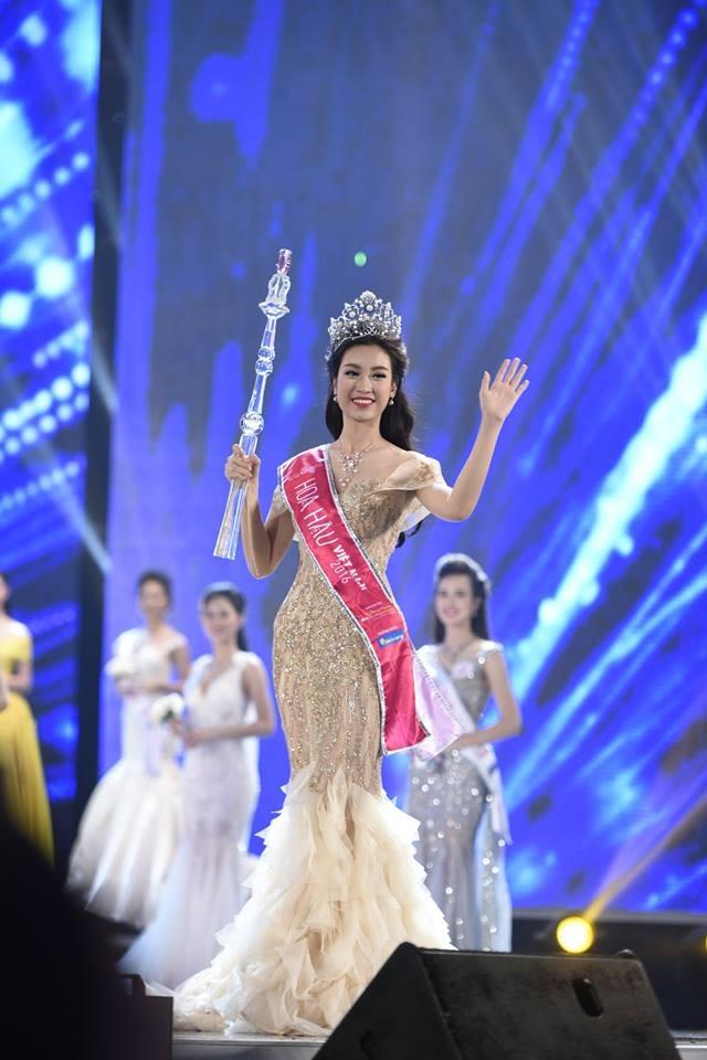Chính thức trở thành tân Hoa hậu Việt Nam 2016.
