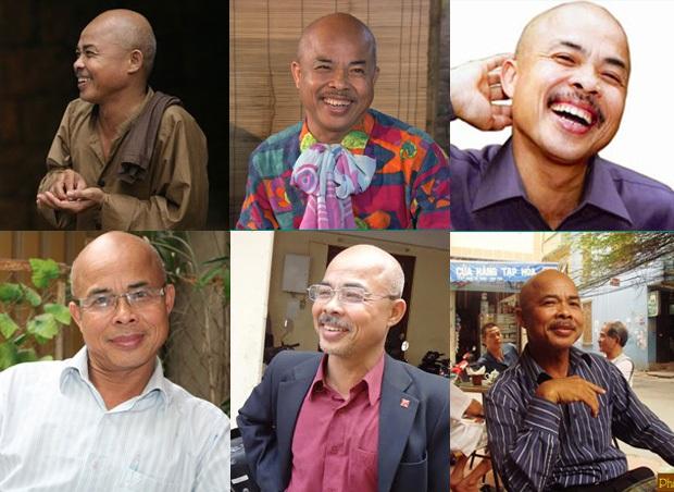 Trong mắt nhà văn Phạm Ngọc Tiến, nghệ sĩ Hán Văn Tình là người hiền lành sống văn hóa và thật sự là một tài năng. Ảnh: TL.