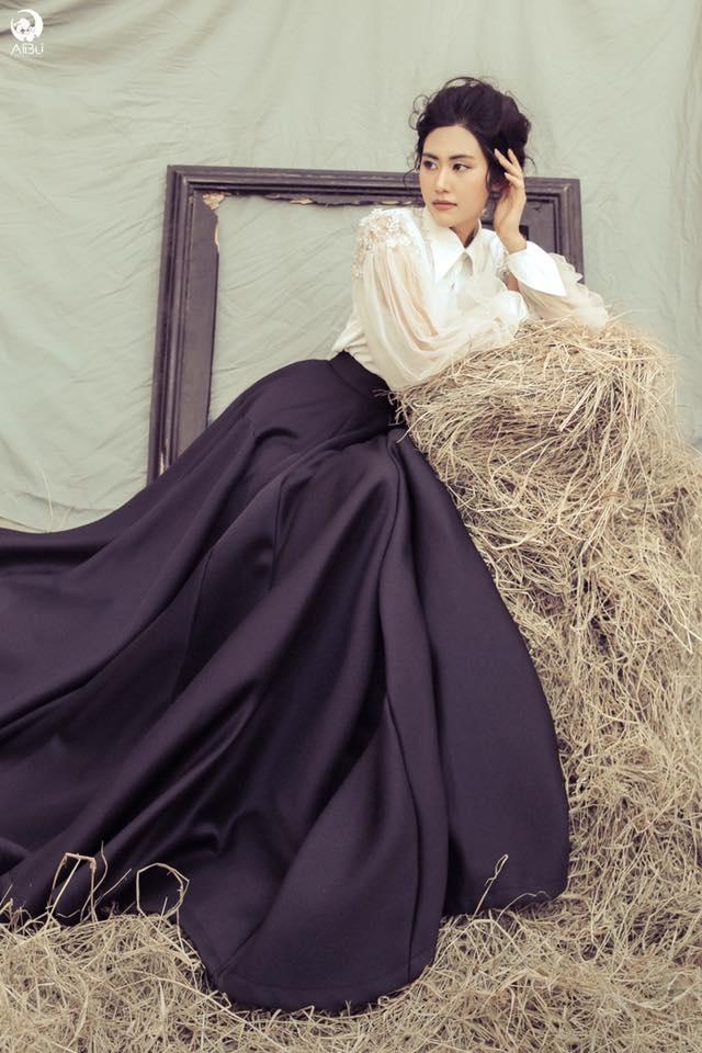 Ngô Trúc Linh khẳng định cô sẽ không tham dự Miss Intercontinental 2016 vì thời gian chưa thích hợp. Ảnh: NVCC.