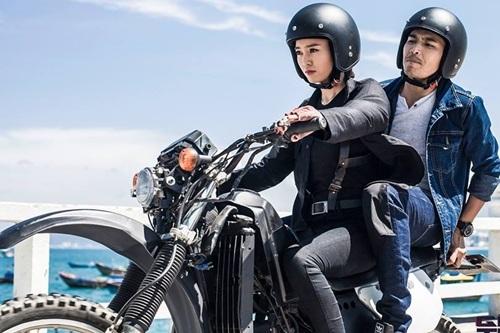 Ninh Dương Lan Ngọc trong phim. Ảnh: TL.
