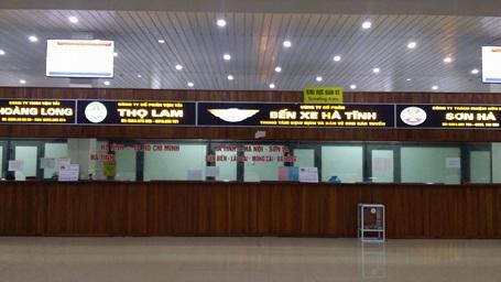 Các nhà xe đăng ký tại bến xe Hà Tĩnh hầu như vẫn chưa có thông báo giảm giá cước sau ngày 23/2.