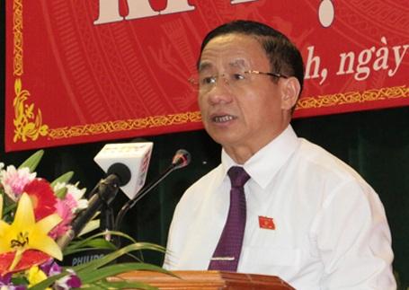 Ông Lê Đình Sơn tái đắc cử Chủ tịch HĐND tỉnh.