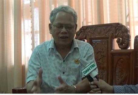Ông Nguyễn Ngọc Mỵ, Chủ tịch Hội CCB Hà Tĩnh.