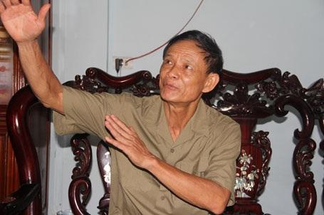 Thượng tá Đậu Văn Sáu (hiện đã nghỉ hưu), người đã bỏ nhiều công sức đưa người lính lưu lạc hơn 40 năm trên đất bạn Lào trở về quê hương Bắc Giang.