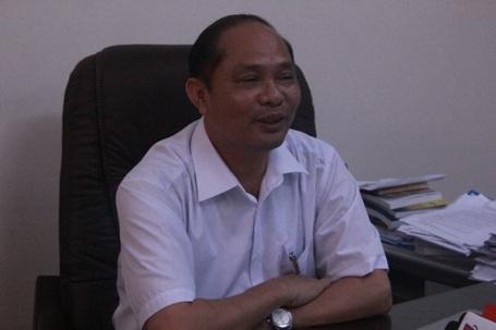 Giám đốc Sở TNMT Hà Tĩnh, ông Võ Tá Đinh