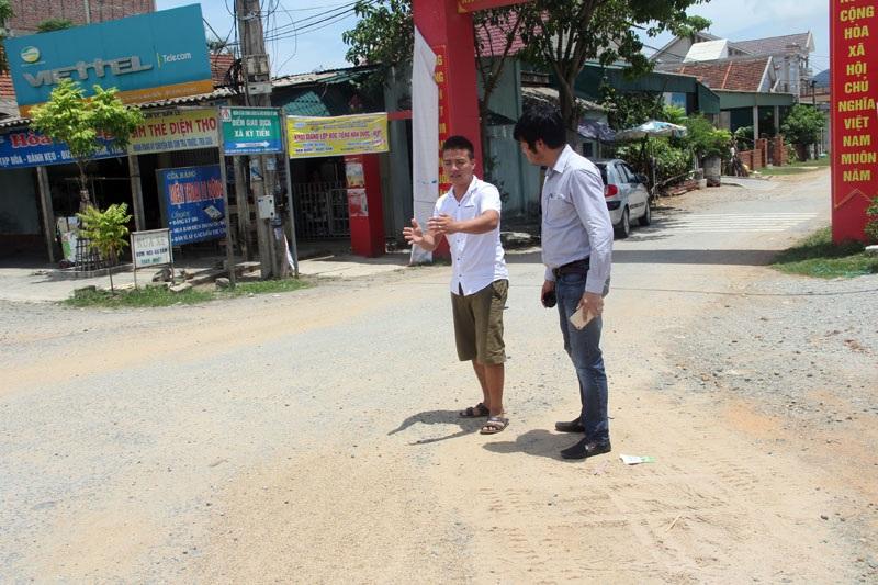 Anh Nguyễn Xuân Hùng khẳng định mình đã chứng kiến toàn bộ hành vi tàn ác của tài xế xe ben.