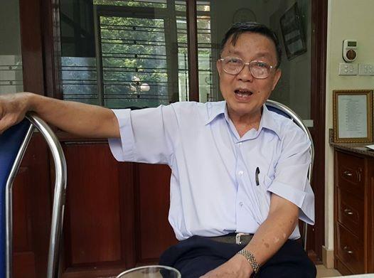 GS.TS Lê Ngọc Trọng, nguyên Thứ trưởng Bộ Y tế khẳng định, trong giai đoạn chống Mỹ, Việt Nam chưa sử dụng chiết xuất từ thanh hao hoa vàng để điều trị sốt rét ác tính. Ảnh: H.Hải