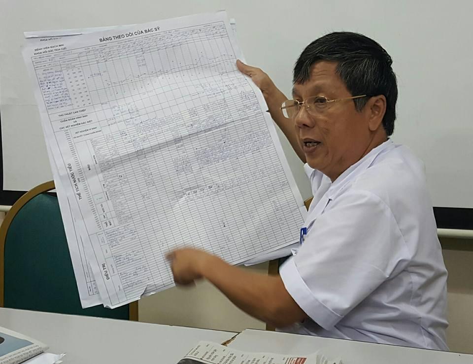 GS.TS Nguyễn Gia Bình, Trưởng khoa Hồi sức tích cực (BV Bạch Mai). Ảnh: H.Hải
