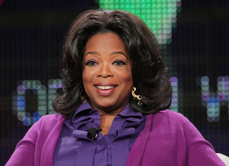 Nữ hoàng truyền hình Oprah Winfrey. (Ảnh: Getty)