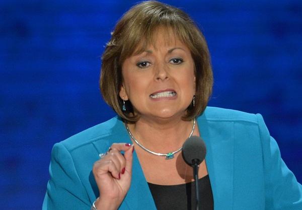 Thống đốc bang New Mexico Susana Martinez. (Ảnh: UPI)