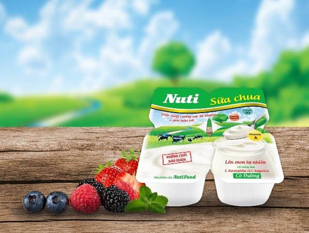 Sữa Chua Nuti(*) – Ngon mê ly, đầy dinh dưỡng!