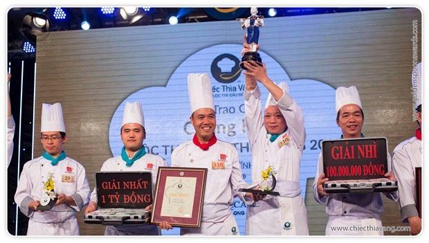 1 tỷ đồng là mức giải thưởng kỷ lục, tính đến thời điểm này, của các cuộc thi ẩm thực ở Việt Nam