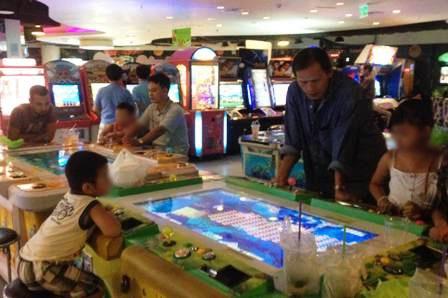 Trò chơi bắn cá dành cho thiếu nhi nhưng đang bị biến tướng thành cờ bạc