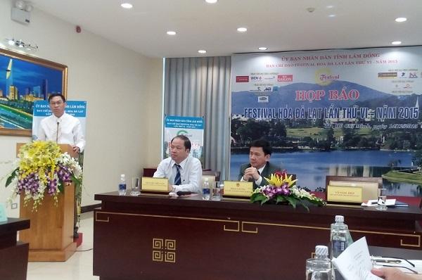 Tỉnh Lâm Đồng giới thiệu Festival Hoa Đà Lạt tại TPHCM