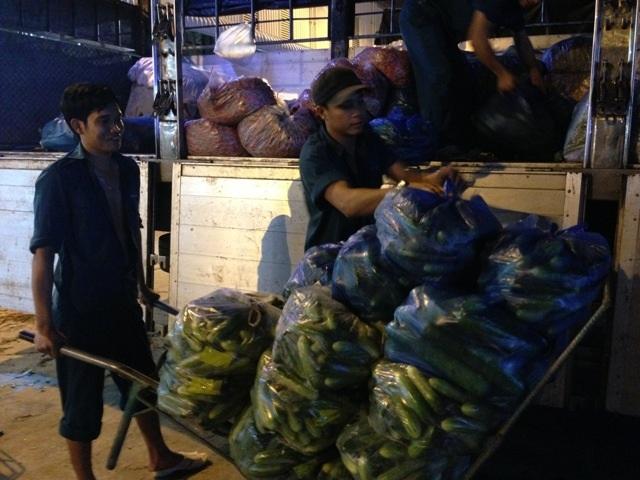 Anh Trần Trung Ảnh chia sẻ về những vất vả trong nghề bốc vác đêm