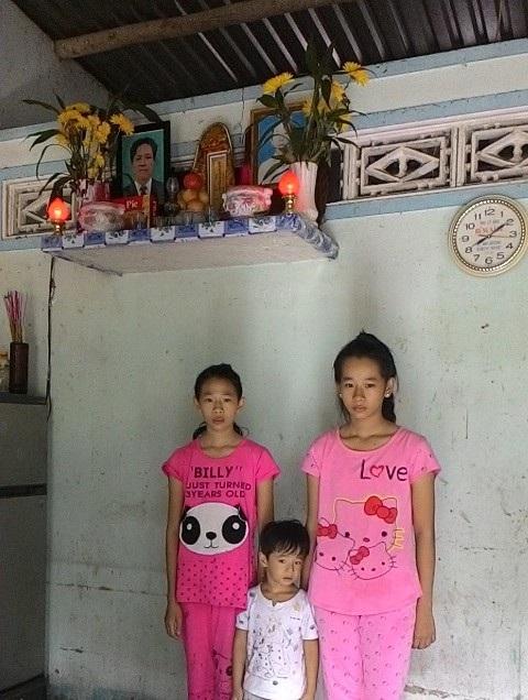 3 chị em ốm yếu, côi cút giữa cuộc đời