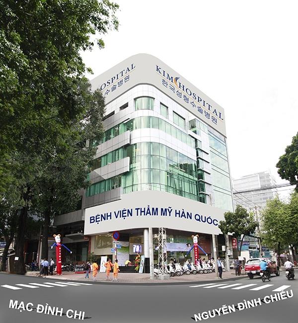 Bệnh viện thẩm mỹ Hàn Quốc chính thức đầu tiên và duy nhất tại Việt Nam -31 Nguyễn Đình Chiểu, P.ĐaKao, Quận 1, TPHCM