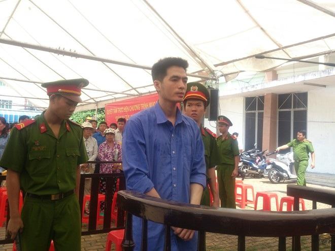 Bị cáo Nguyễn Văn Anh tại phiên tòa xét xử sơ thẩm