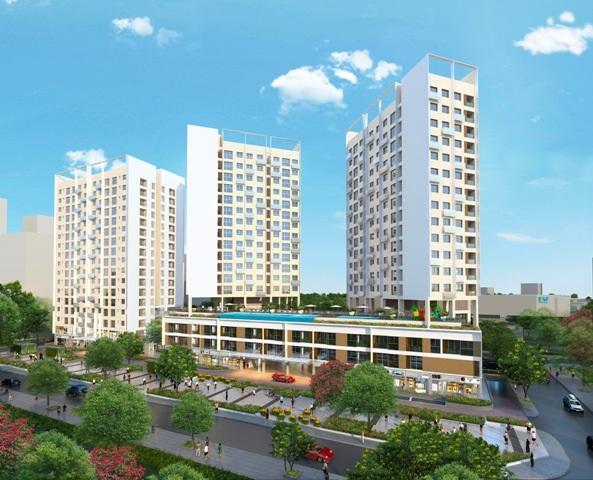 Thiết kế nhiều tiện ích ngay tại nội khu, 80% số lượng căn hộ có diện tích sử dụng từ 70m2 nên tổng giá dễ mua, cộng với lịch thanh toán chỉ 1%/tháng nên đối tượng khách hàng trẻ quan tâm dự án khá đông