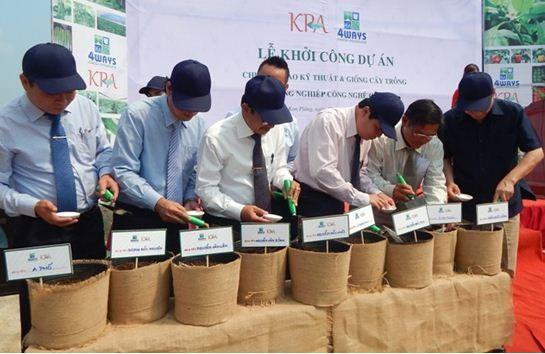 Những hạt giống đầu tiên được gieo, khởi đầu cho hành trình chuẩn hóa hoa quả Việt, thắp lên ước mơ về một ngành nông nghiệp chất lượng cao