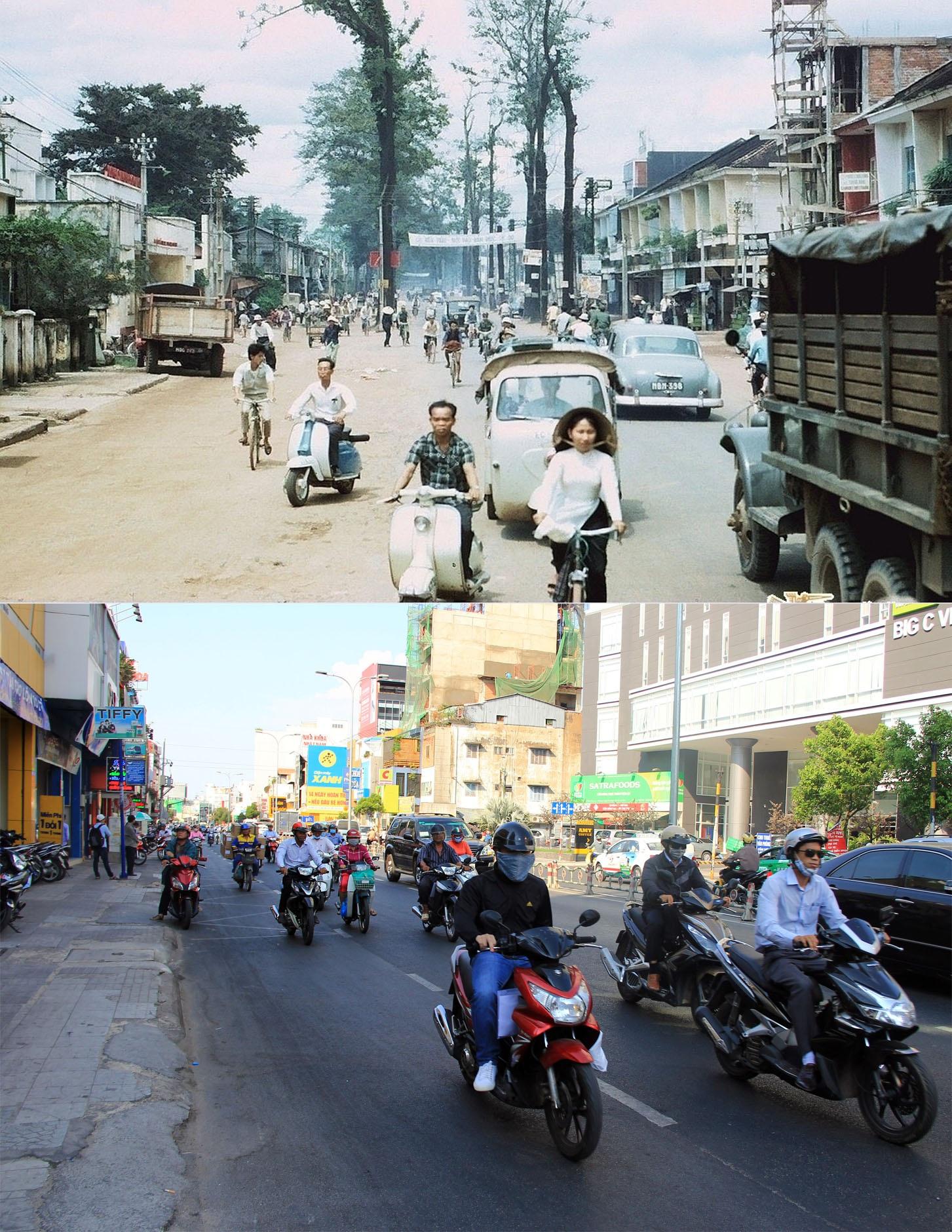 Đường Phan Đăng Lưu, một trong những con đường cổ xưa của Sài Gòn. Trước 1975, đường này mang tên Chi Lăng.