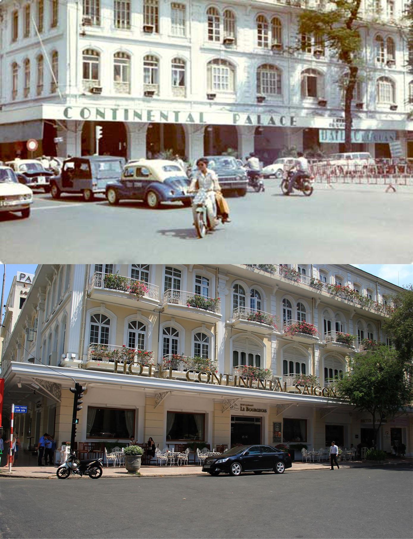 Khách sạn Continental là khách sạn cổ nhất của Sài Gòn, được xây dựng từ năm 1880, đến nay đã gần 140 tuổi. Đây cũng là 1 trong những công trình xưa hiếm hoi còn tồn tại trên đường Đồng Khởi.