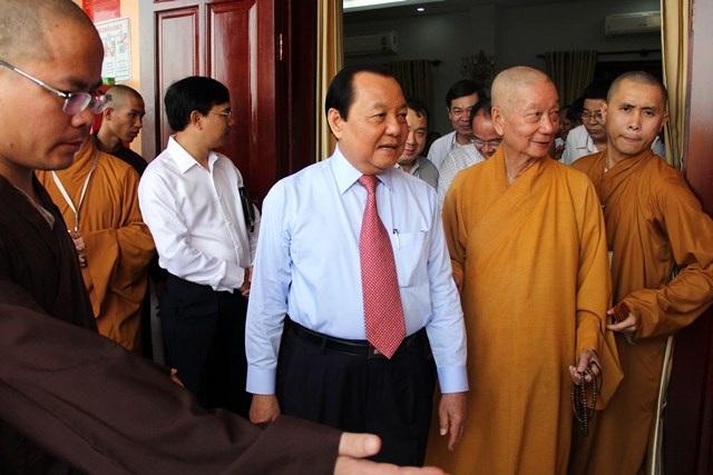 Nguyên Bí thư Thành ủy TPHCM Lê Thanh Hải tham dự lễ khánh thành học viện