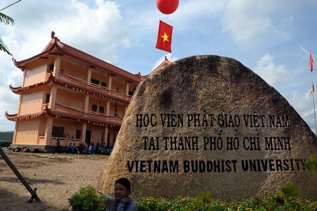 Học viện Phật giáo Việt Nam tại TPHCM được xây dựng trên diện tích 24 hecta, khởi công từ cuối năm 2012.