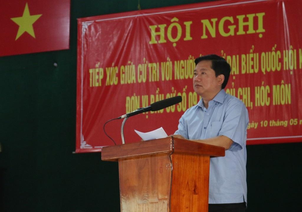 Bí thư Thành ủy Đinh La Thăng cam kết trong tháng 6 phải giải quyết dứt điểm khiếu kiện liên quan đến đền bù giải phóng mặt bằng