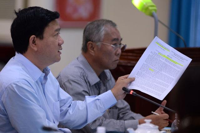 Ngay tại buổi họp, Bí thư Thăng đã chỉ đạo các cơ quan liên quan giải quyết hàng loạt bức xúc của người dân