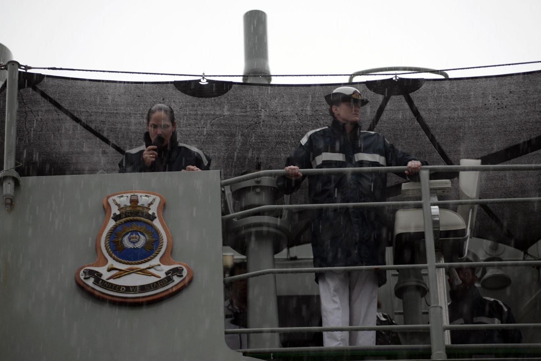 Các sĩ quan nữ trên tàu